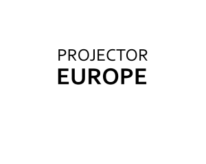 PROJECTOR EUROPE